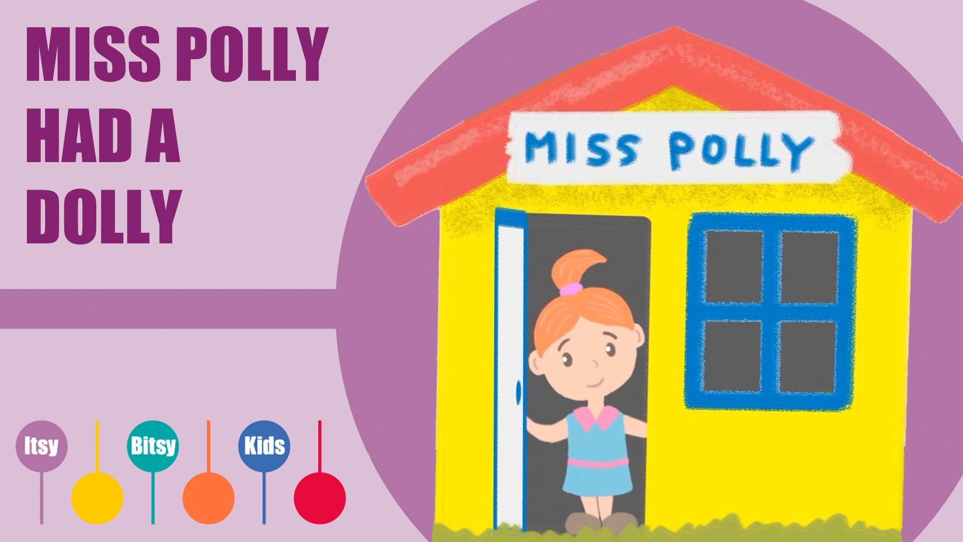Miss Polly Had A Dolly Sheet Music With Chords And Lyrics   Itsy Bitsy Kids Music